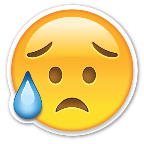 Worried Emoticon Gif