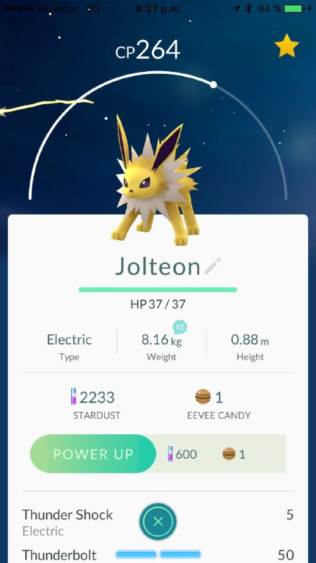 Blog Movistar - Jolteon - evolucion