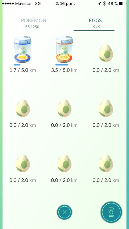 Blog Movistar - Pokemon Go - pokeeggs