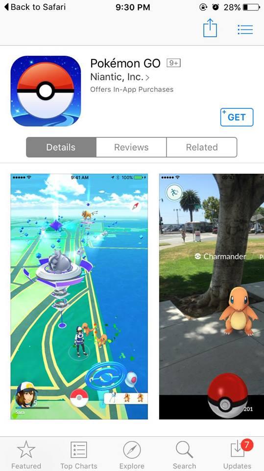 Blog Movistar - iPhone - POkemon Go