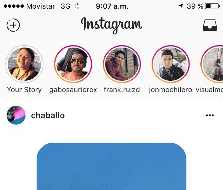 Blog Movistar - Instagram - stories