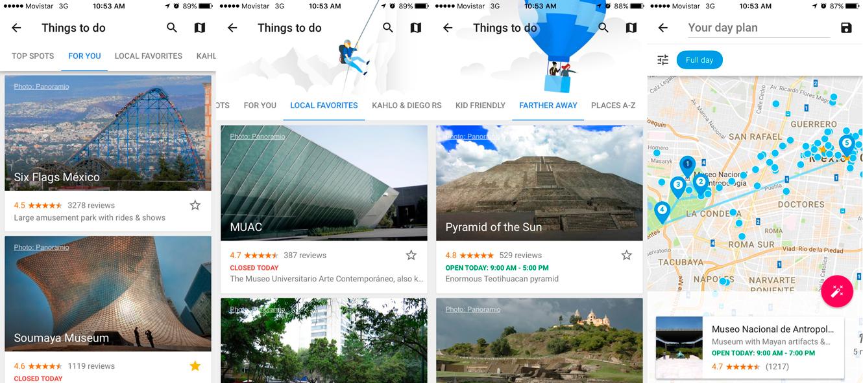 Blog Movistar - Google Trips - Cosas que hacer