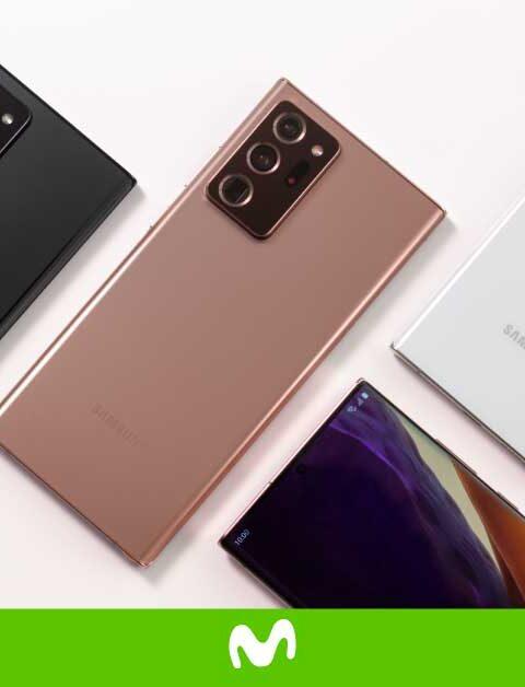Galaxy Note 20: Ideal para trabajar y divertirte